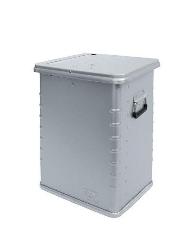 Metalinis 70 litrų talpos konteineris dokumentams kaupti