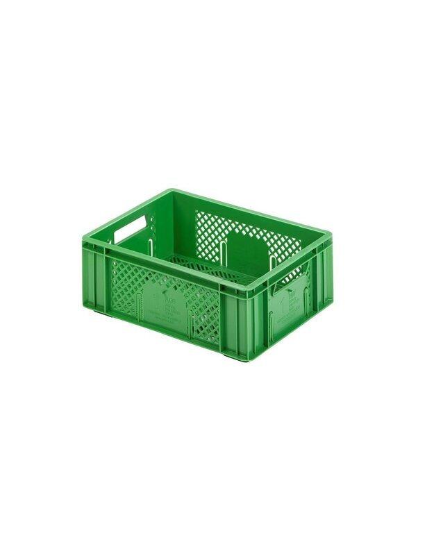 Plastikinė dėžė vaisiams ir daržovėms 013-19
