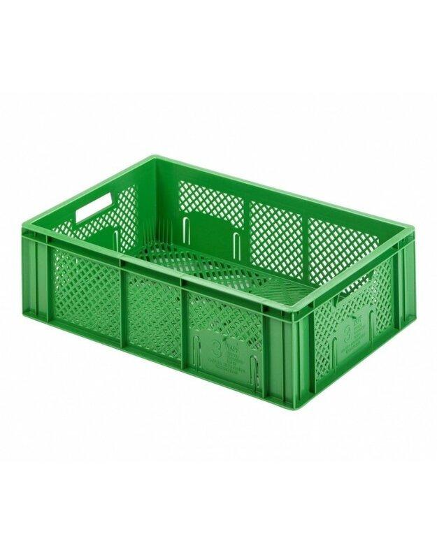 Plastikinė dėžė vaisiams ir daržovėms 416-19