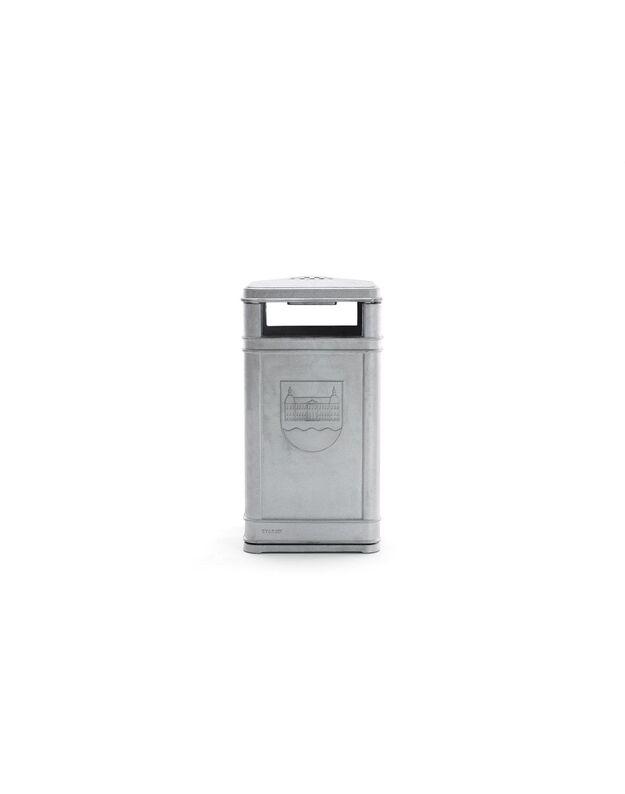 Lieto aliuminio šiukšlių dėžė BYARUM
